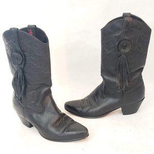 🤠 Laredo Vintage Western Boots Size 7 M 🐴